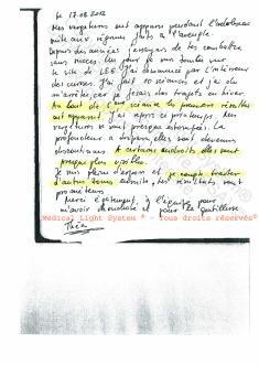 avis vergetures blanches anciennes - traitement des vergetures paris par LED Medical Light System ® CENTRE PILOTE (LBSA) © Mme NEDELT.....