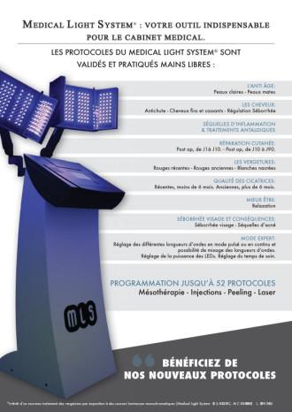 Medical Light System® Protocoles validés