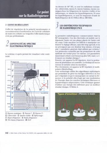 Le point sur la Radiofréquence  : Informations et Différentes Techniques - Copyright SKIN SURFING©