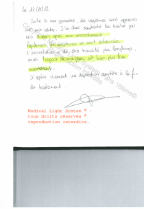 avis vergetures traitement par LED Medical Light System® Centre Pilote Paris © Melle MI....
