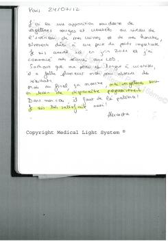 traitement des vergetures avis - traitement par LED Medical Light System ® centre Pilote (Laboratoire LBSA) © Melle COU.....