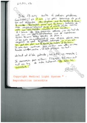 avis traitement vergetures paris par LED Medical Light System ® Centre Pilote © Melle S.....