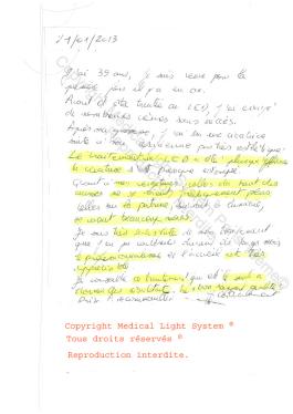 avis traitement vergetures paris par LED Medical Light System® centre Pilote © Mme MEZ....