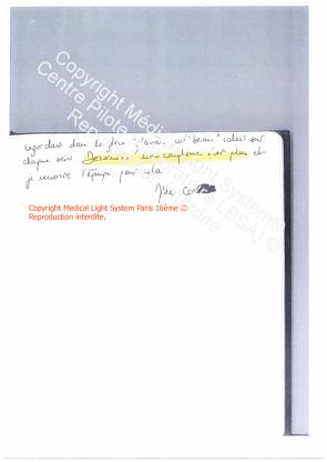 avi vergetures traitement paris avant apres - traitement des vergetures par LED Medical Light System ® CENTRE PILOTE (LBSA) © Melle COR.... 2ème Partie