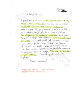avi traitement des vergetures paris par LED Medical Light System ® CENTRE PILOTE (LBSA) © Melle RO.....