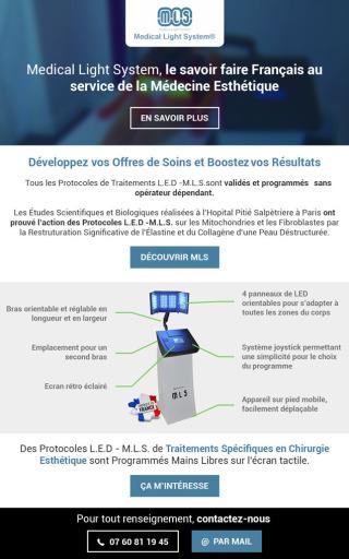 Médical Light System, le savoir faire Français au service de la Chirurgie et de la Médecine Esthétique