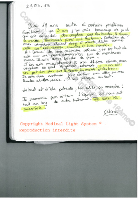 vergetures paris par LED Medical Light System® centre Pilote © Melle S.....